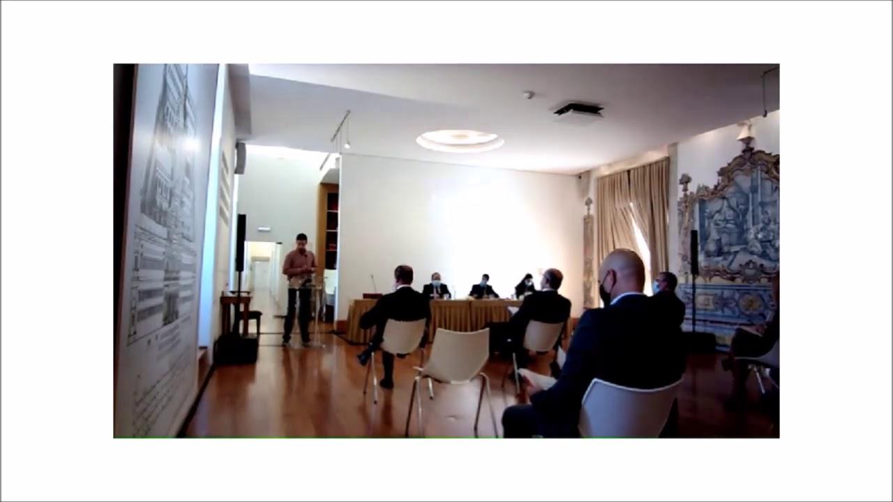 Ricardo Vicente na Audição sobre a despoluição do Rio Lis e construção de uma ETES pública
